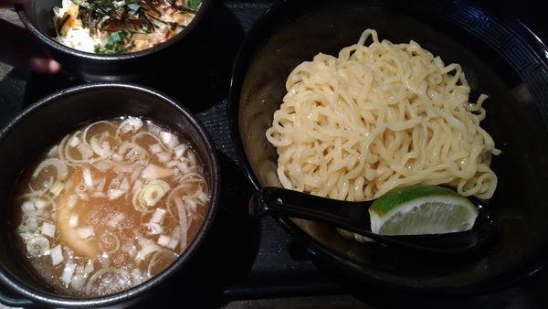 「塩つけ麺」@麺屋 きらの写真