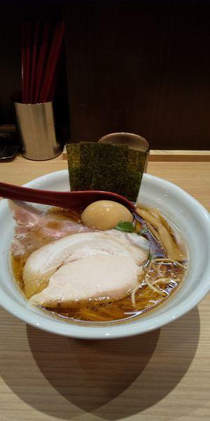 「特製鶏だし醤油ラーメン」@常陸 景虎の写真