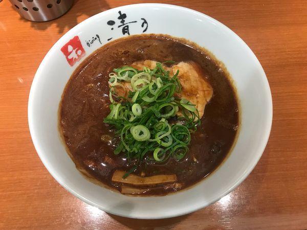「こってり和歌山らーめん」@清乃 近鉄店の写真