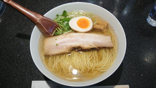 「和風柳麺 670円 + 豚丼 350円」@麺屋ひょっとこ 銀座店の写真