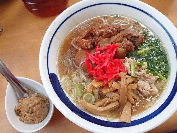 「【4月限定】PIG's FOOT(足2本)」@MENYA 食い味の道有楽の写真