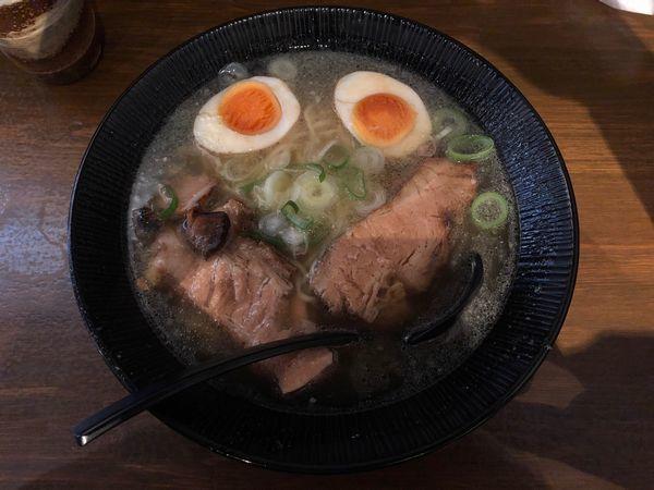 「内モンゴル岩塩ラーメン+卵」@和の中の写真