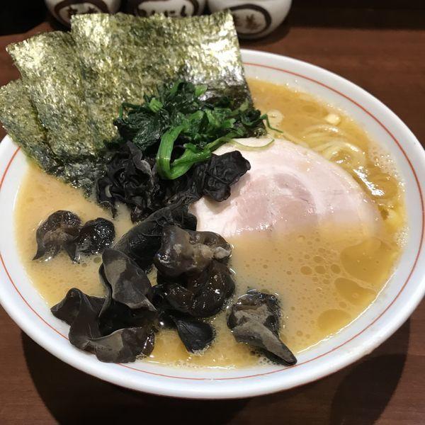 「らーめん(ばら肉)(¥700)+キクラゲ(¥50)」@らーめん飛粋の写真