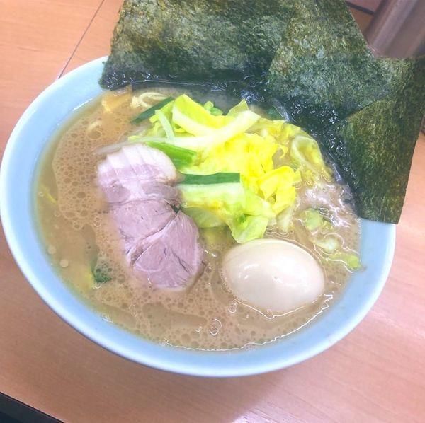 「野菜ラーメン」@横浜家系ラーメン 二代目 梅家の写真