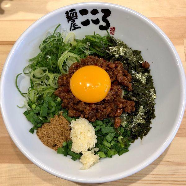 「台湾まぜそば (830円)」@麺屋こころ 鹿児島山下店の写真