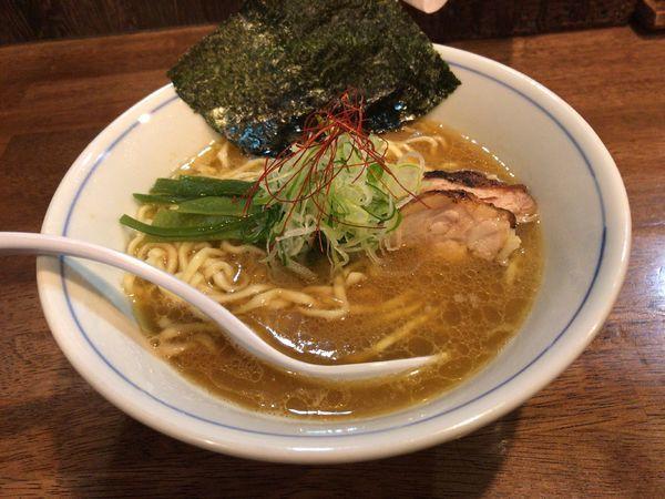 「鶏そば」@らぁめん 欽山製麺所の写真