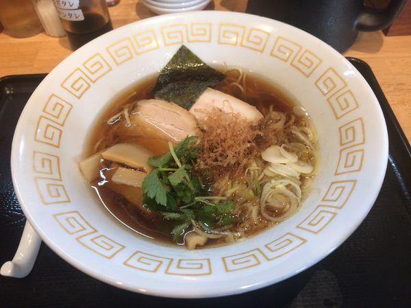 「阿波地鶏醤油らぁ麺」@麺屋 藤の写真