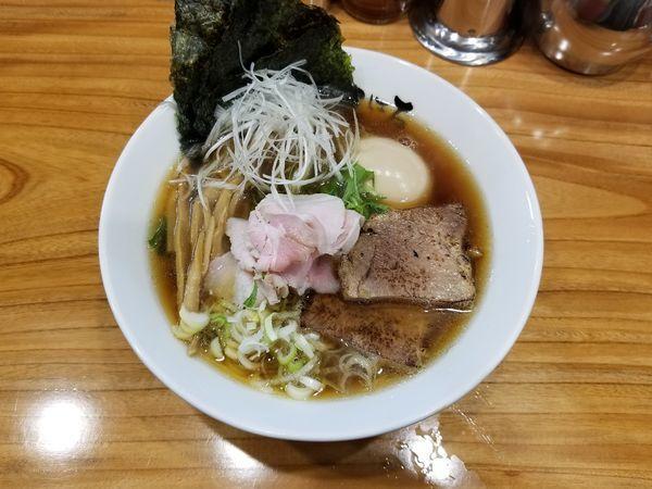 「特選らぁめん(1,050円)」@日本橋麺処 こはるの写真