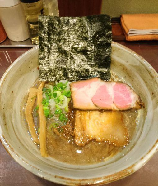 「煮干しそば」@麺屋 照の坊の写真