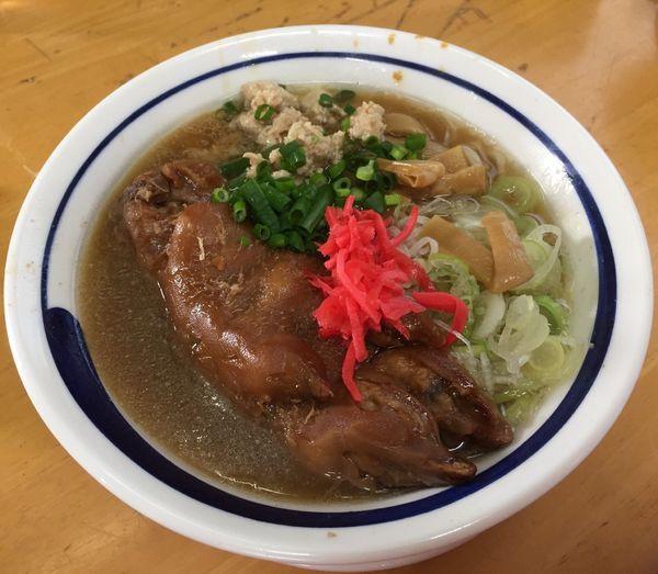 「【卯月限定】PIG's FOOT(ジャンク&コラーゲン)」@MENYA 食い味の道有楽の写真