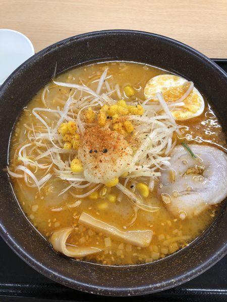 「辛味噌ラーメン」@東北自動車道上り線岩手山サービスエリアレストランの写真