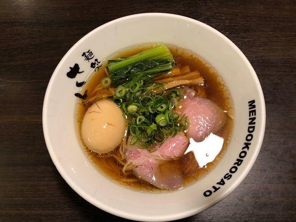 「醤油ラーメン」@麺処 さとう 桜新町店の写真
