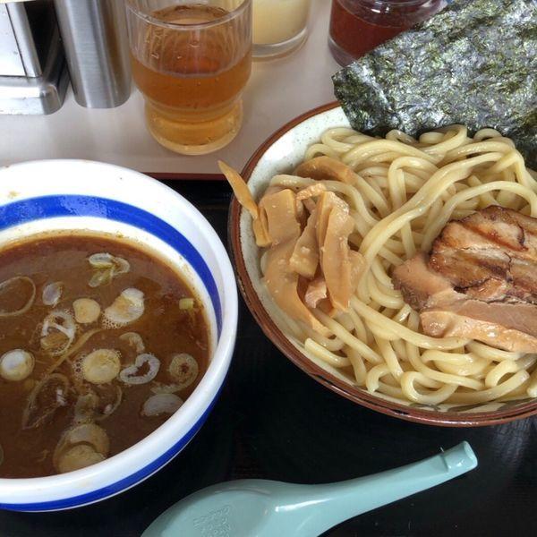 「つけ麺+中盛(750円+30円)」@麺屋ゆうの写真