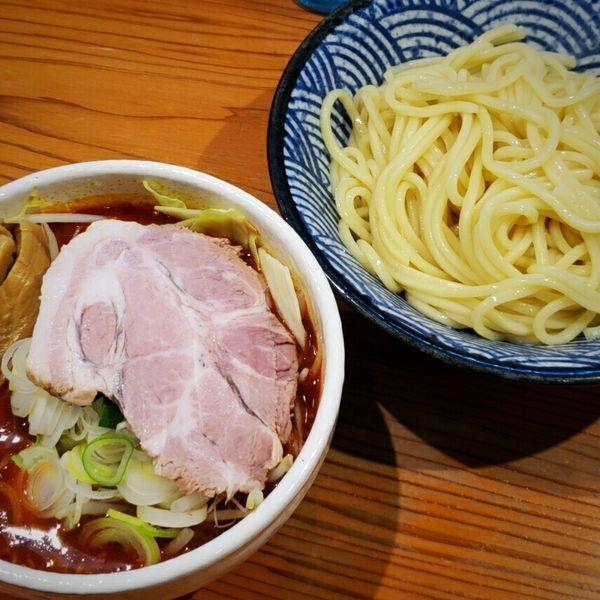 「つけそば麻辣 1000円」@麺 一直の写真
