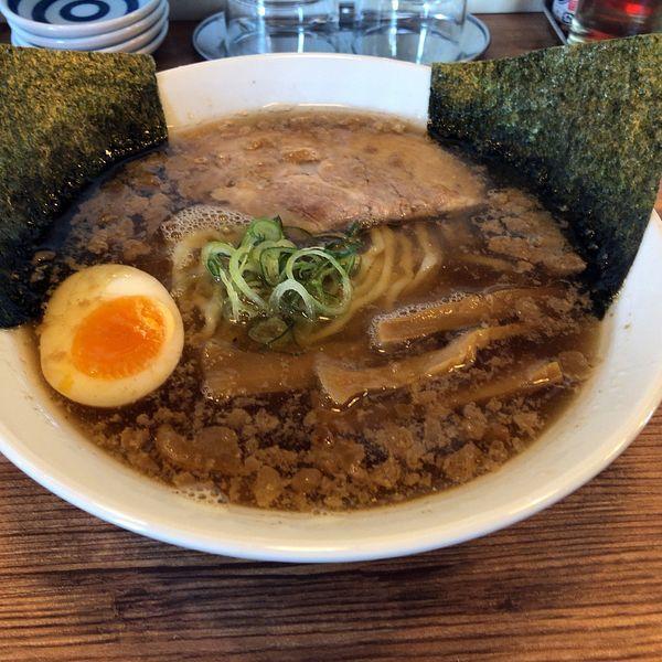「うめまるらーめん(850円)」@二代目うめまる 麺や 日の出の写真