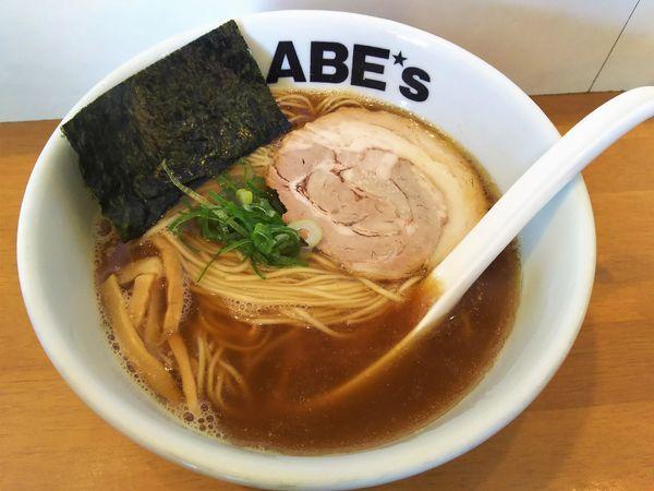 「煮干ラーメン¥750」@ラーメン ABE'sの写真