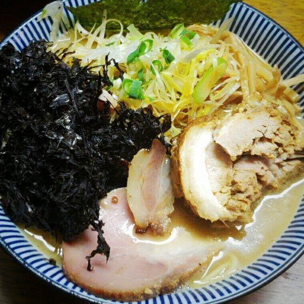「【Special】ネギラーメン 850円+バラ海苔トッピング」@良温(Ra-on)の写真