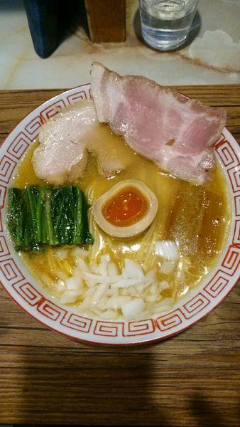 「あってり麺【大乱闘蟹煮干bros.SPECIAL】1300円」@あってりめんこうじ 安中原市店の写真