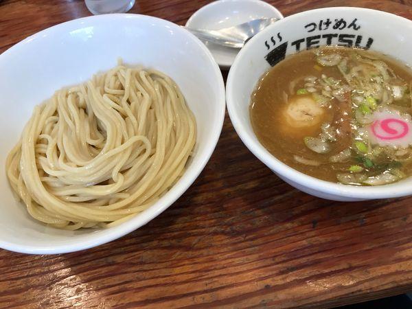 「味玉つけ麺」@つけめんTETSU さいたま特別版の写真
