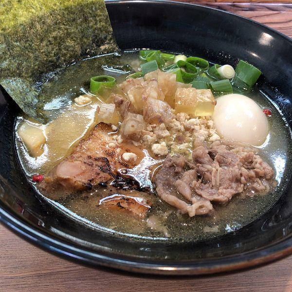 「極 KIWAMI 塩SOBA(890円)」@麺家 Shumen Doushiの写真