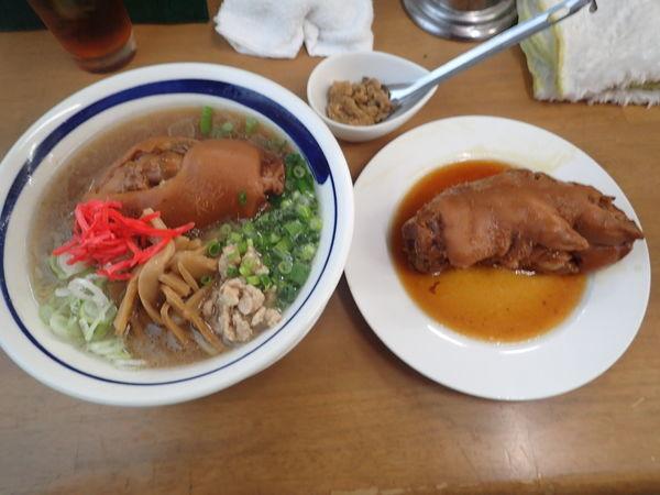 「PIG's FOOT(ジャンク&コラーゲン) B」@MENYA 食い味の道有楽の写真