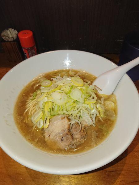 「肉そば(中、ねぎまし)」@自家製麺 伊藤の写真