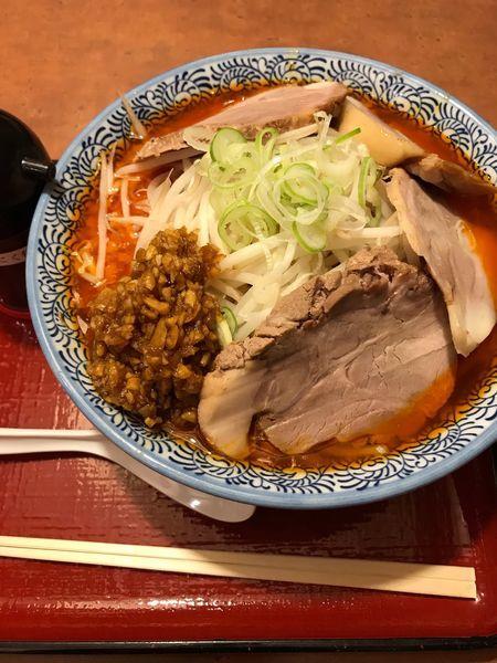 「富士チャーシュー麺」@唐麺や十兵衛 花園店の写真