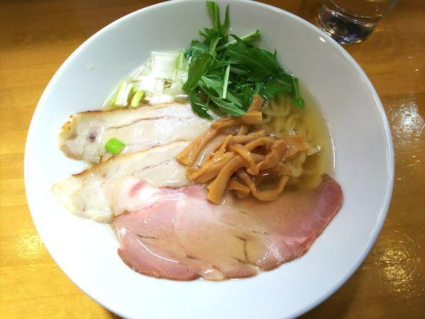 「虜中華そば 750円」@自家製中華そば 麺の虜の写真