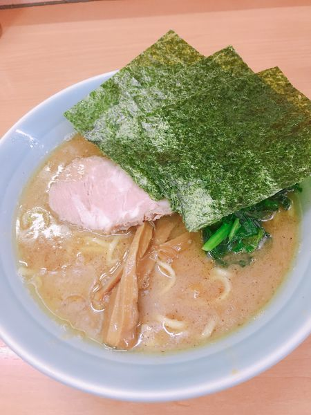 「魚介とんこつラーメン 750円」@横浜家系ラーメン 二代目 梅家の写真