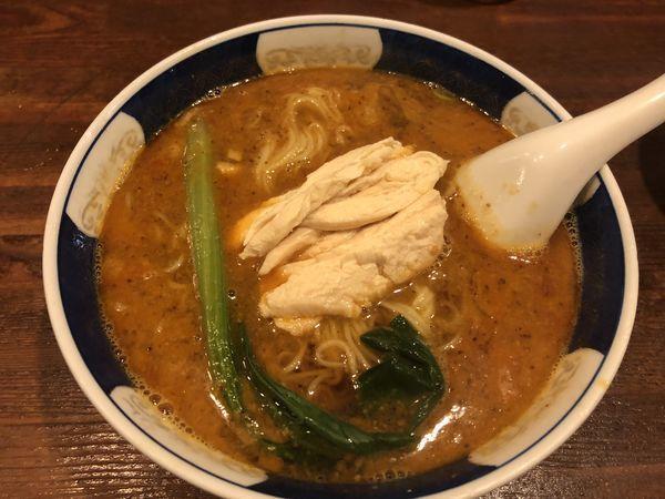 「ざあさいだんだんめん」@支那麺 はしご 銀座八丁目店の写真