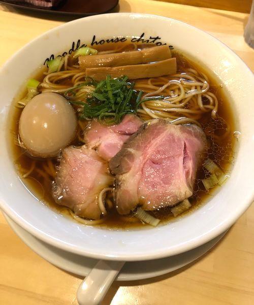 「醤油¥800」@麺庵ちとせの写真