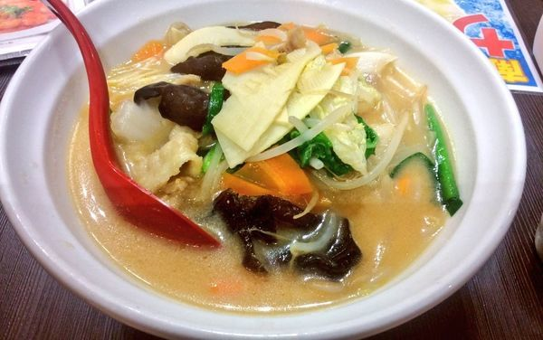 「味噌タンメン・玉葱抜き」@南大門グランドレストラン 和囲輪囲の写真
