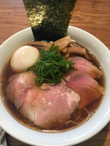 「全部乗せ醤油(大盛)」@麺や渦雷UZURAIの写真