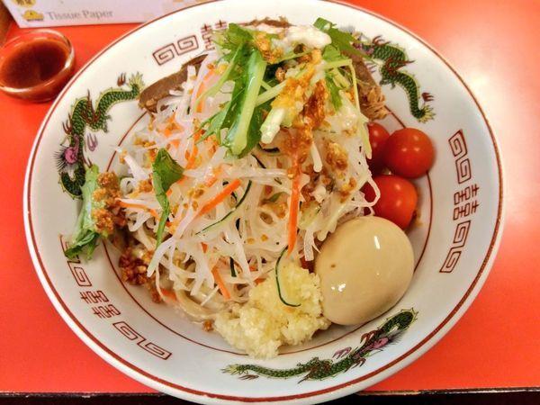 「期間限定 冷やし中華」@赤ひげラーメン 那覇松山店の写真