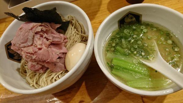 「特製真鯛つけ麺(1050円)」@真鯛らーめん 麺魚の写真