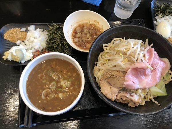 「極・どろつけ麺 中盛 +脂」@つけ麺 どでんの写真