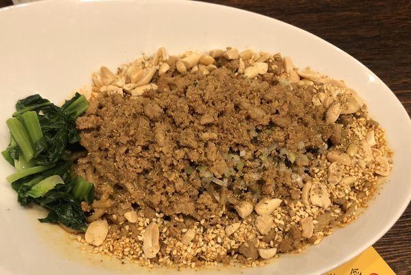 「汁なし坦々麺」@雲林坊 川口店の写真
