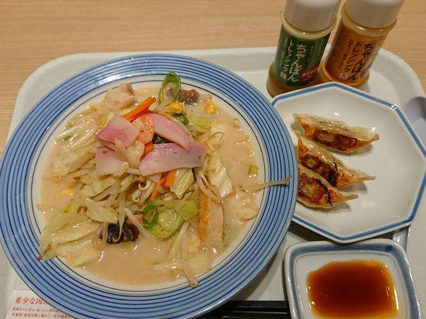 「野菜たっぷりちゃんぽん(ミドル)」@長崎ちゃんぽん リンガーハット イトーヨーカドー松戸店の写真
