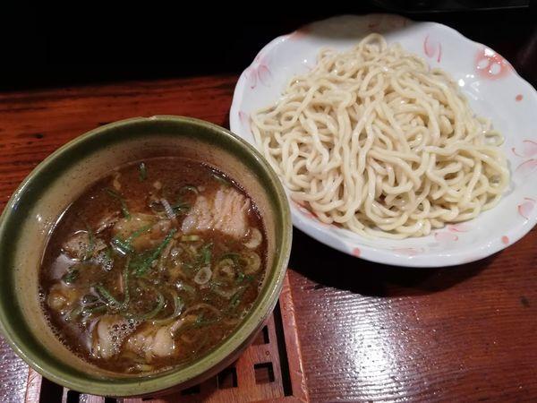 「牛スジつけ麺」@麺舎 ヒゲイヌの写真