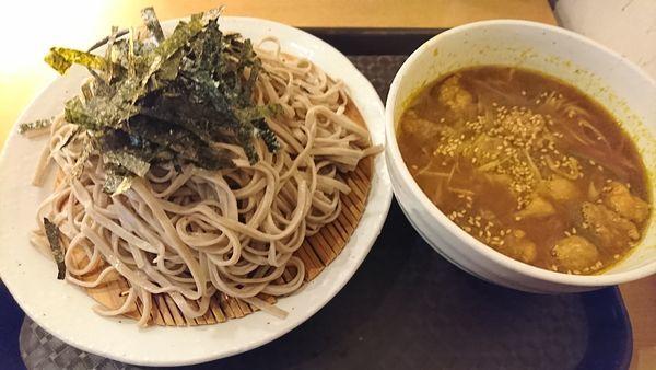 「咖喱(カリー)つけ蕎麦 850円」@神田 つけ蕎麦 わびすけの写真