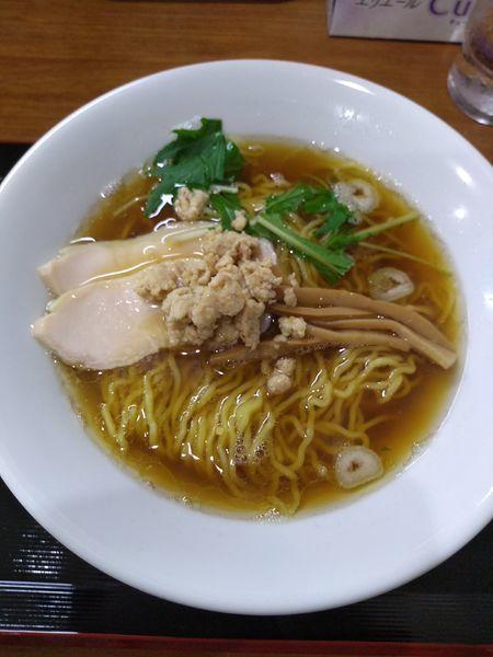 「中華そば 600円」@中華そば&親子丼 けのひの写真