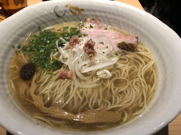 「真鯛と蛤の塩そば」@SOBAHOUSE 金色不如帰 新宿御苑本店の写真