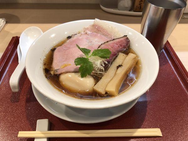 「味たま紀州鴨そば」@燃えよ麺助の写真