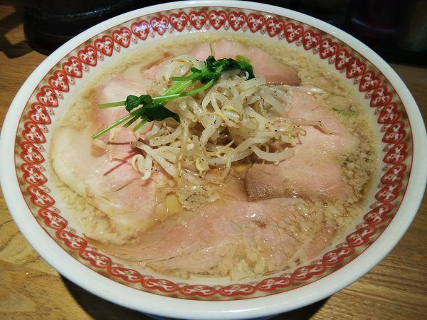 「【限定】淡口醤油の背脂チャーシュー麺 (大盛り)」@麺肴 ひづきの写真
