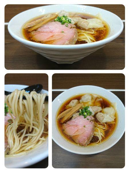 「ワンタン麺」@中華そば さわの写真