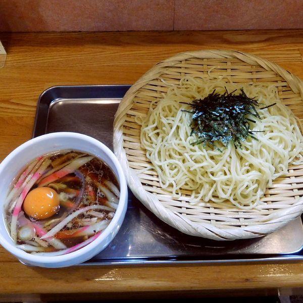 「せいろ(800円)+生玉子(50円)」@飛田給 大勝軒の写真