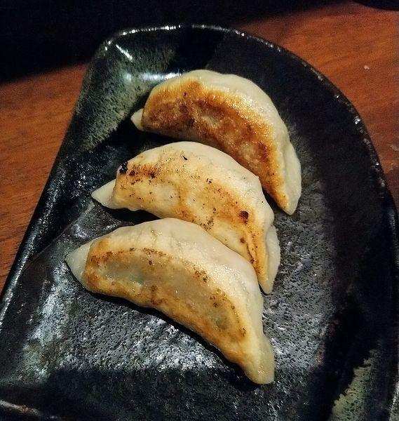 「餃子3個&ライスセット  300円」@麺屋 天王 二号店の写真