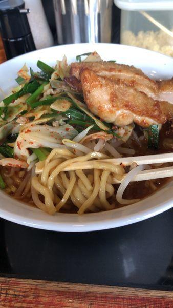 「鷹の爪拉麺+プチ唐」@激辛拉麺 鷹の爪の写真