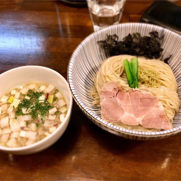 「貝節つけそば 中盛 ¥950」@CLAM&BONITO貝節麺RAIKの写真
