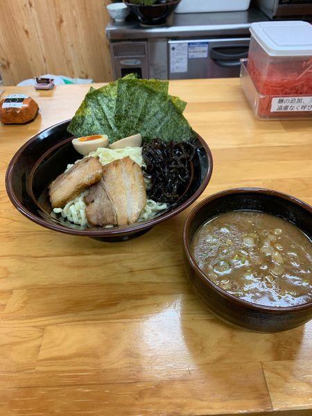 「特製つけ麺200g」@筑豊 麺道場の写真